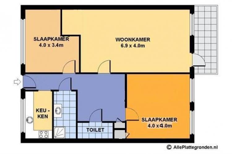 Ravellaan kamer in utrecht - Foto van ouderlijke kamer ...